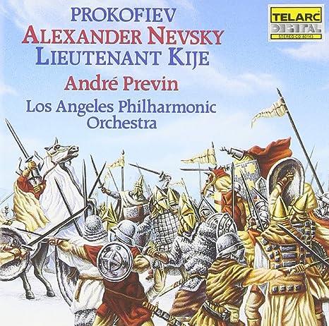 Risultati immagini per prokofiev alexander nevsky lieutenant kije previn