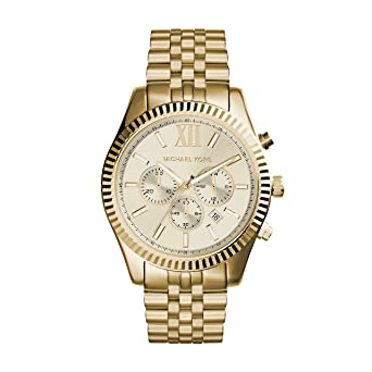 michael kors men s mk8281 quatrz stainless steel lexington gold michael kors men s mk8281 quatrz stainless steel lexington gold watch
