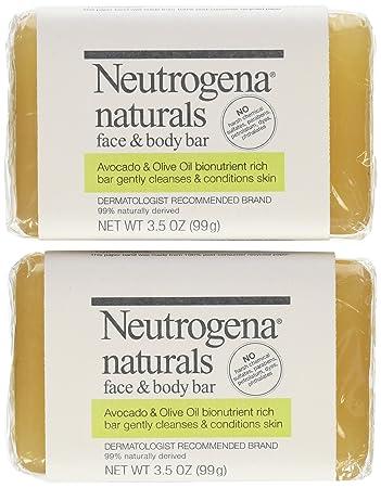 Neutrogena Naturals Face Soap Bar