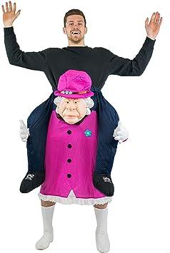 Bodysocks® Disfraz a Hombros (Carry Me) de Queen Elizabeth para ...