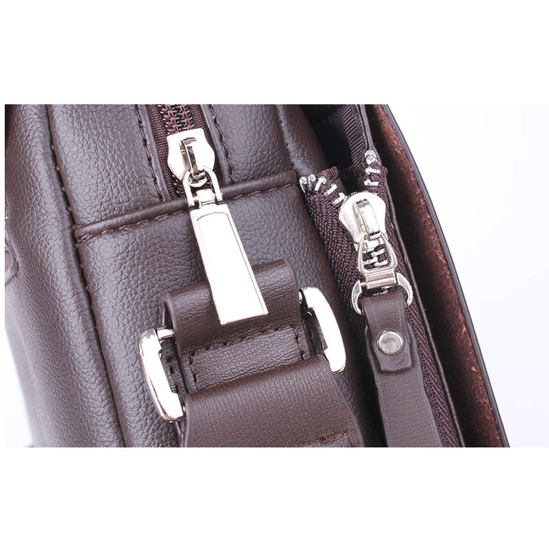 New Arrived Brand Kangaroo mens messenger bag leather shoulder bag Handsome