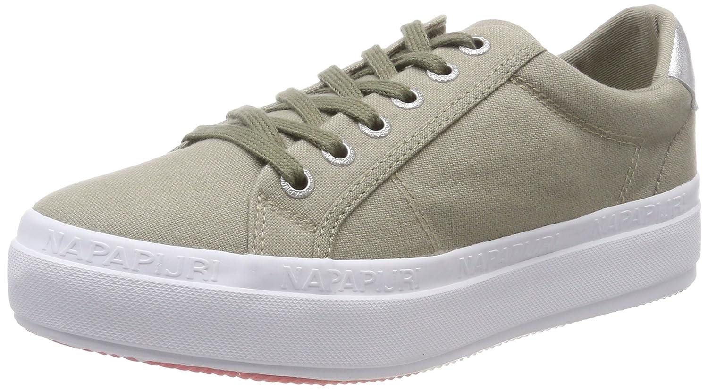 NAPAPIJRI Footwear Astrid, Zapatillas para Mujer 37 EU|Verde (Caqui)