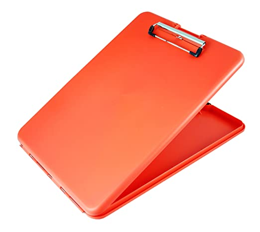 Amazon.com : Saunders SlimMate Plastic Storage Clipboard, 00560 ...