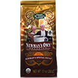 Newman's Own Organic Special Blend Ground Decaf Coffee, 10-Ounce Bags (Pack of 3)
