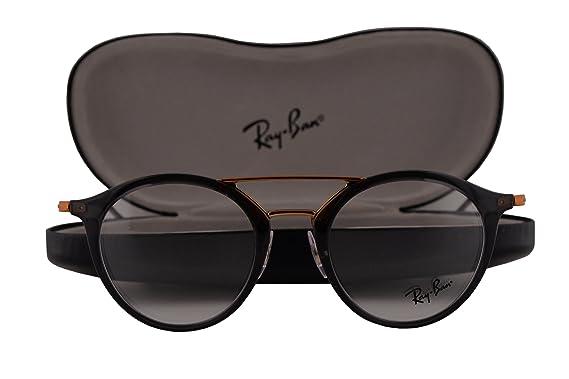 91ecbd4a6c Ray Ban RX7097 Eyeglasses 49-21-145 Gray 5633 RB7097  Amazon.co.uk  Clothing