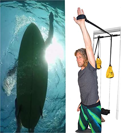 Fitness Triathlon and Cross Training Strokey The Surf Paddle Trainer Surf Fitness to Catch More Waves Swimming