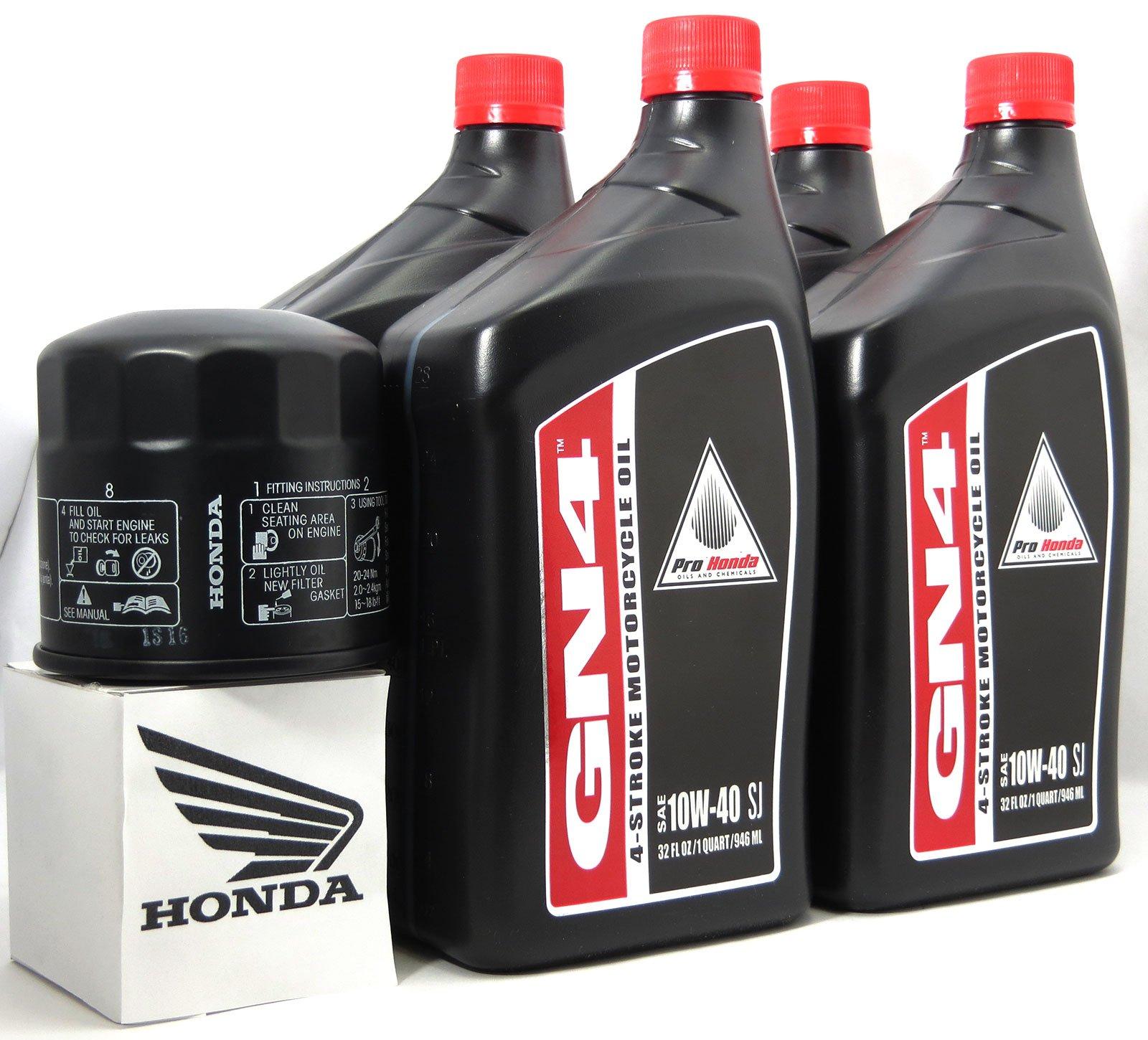 1983 Honda Vf1100C V65 Magna Oil Change Kit With Shaft Drive Fluid