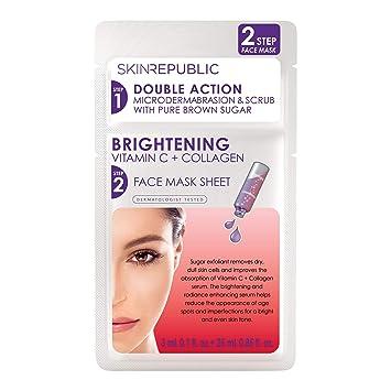 Step Face Brightening C 28ml Vitamin Republic Mask Buy Skin 2