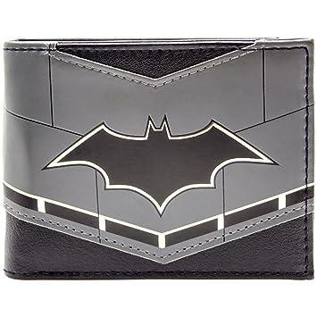 Cartera de DC Batman Símbolo de contorno de oro Negro: Amazon.es: Equipaje