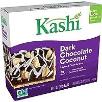 Kashi Layered Granola Bars - Dark Chocolate Coconut - Vegetarian, Kosher Dairy, Non-GMO Project Verified, 6.7 Oz (Box of 6)