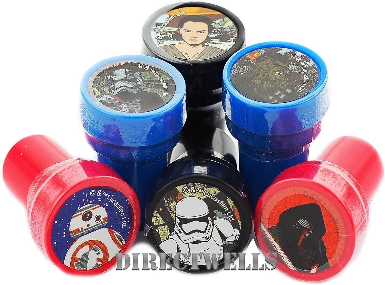 Disney Star Wars Stampers Party Favors 10 Pcs Set
