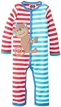 6789ec377c64 Amazon.com  Mud Pie Baby Newborn Monkey One Piece Boy