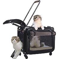 Tutto Medium Pet on Wheels Stroller, 20-Inch, Black