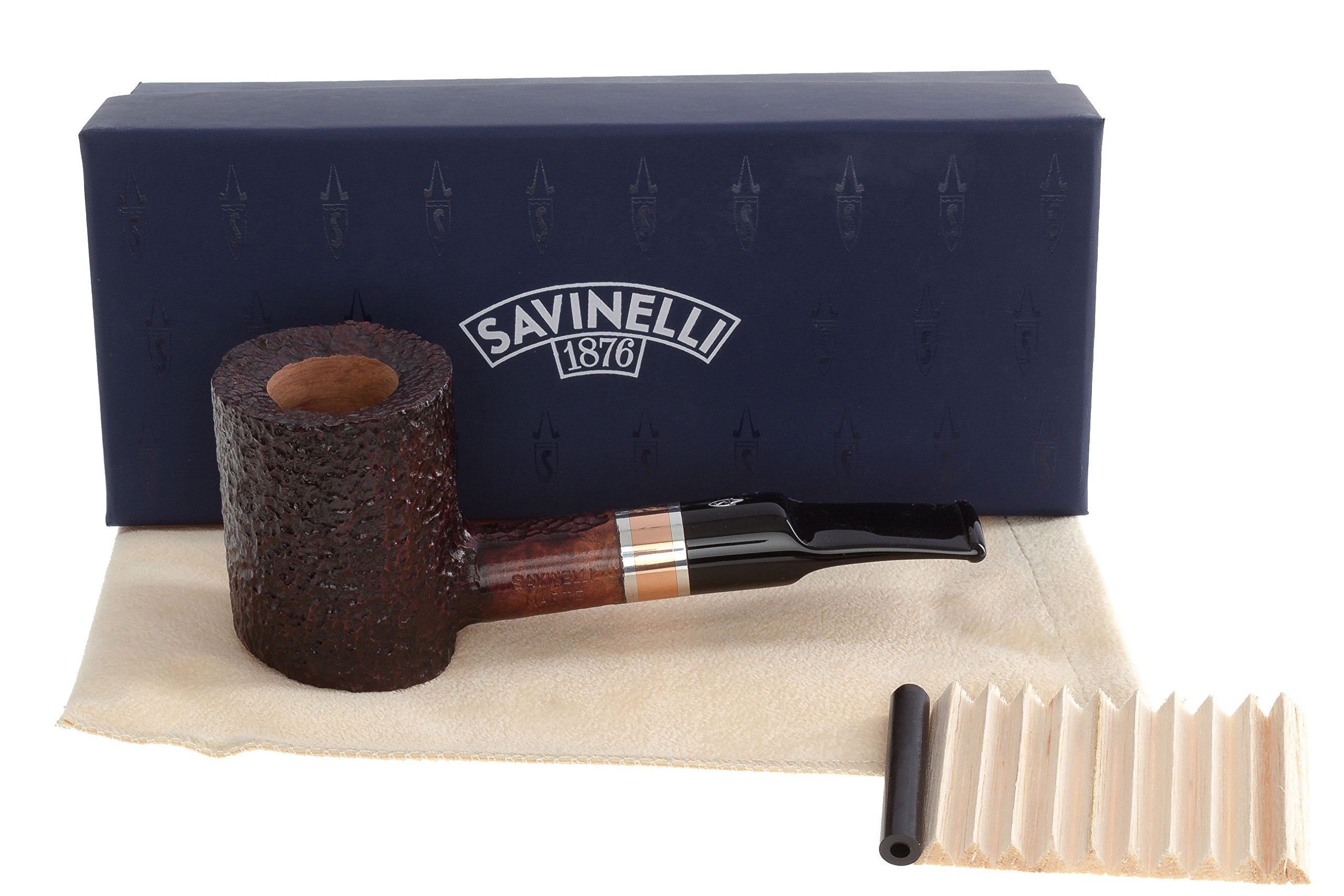 Savinelli Marte 311 KS Tobacco Pipe - Rustic