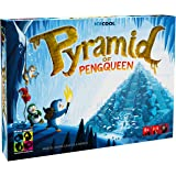 BRAIN GAMES Pyramid of Pengqueen 3D Board Game - A Thrilling Hide & Seek Game - Award Winning Strategy Game for Children, Fam