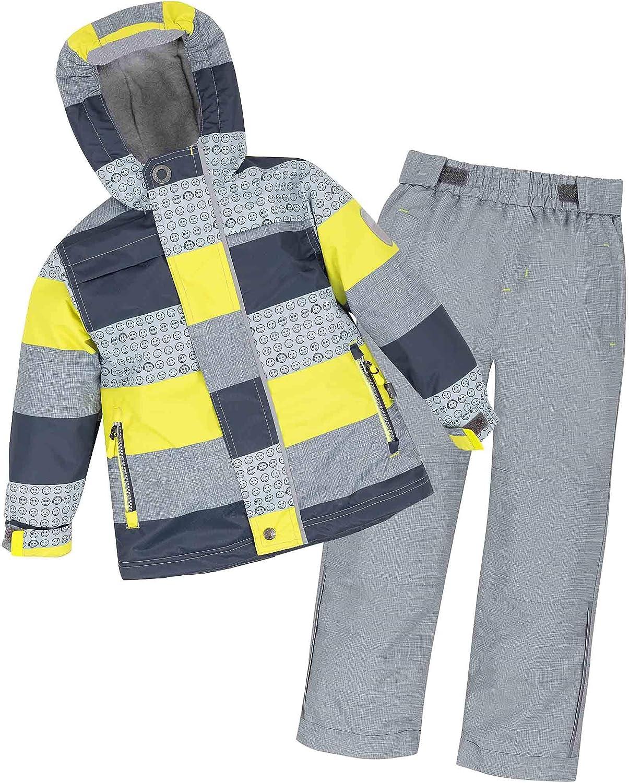 Deux par Deux Boys Spring Suit with Emoji Print Sizes 4-10