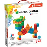 Magna-Qubix 85-Piece Set, The Original Magnetic Building Blocks for Creative Open-Ended Play, Educational Toys for…