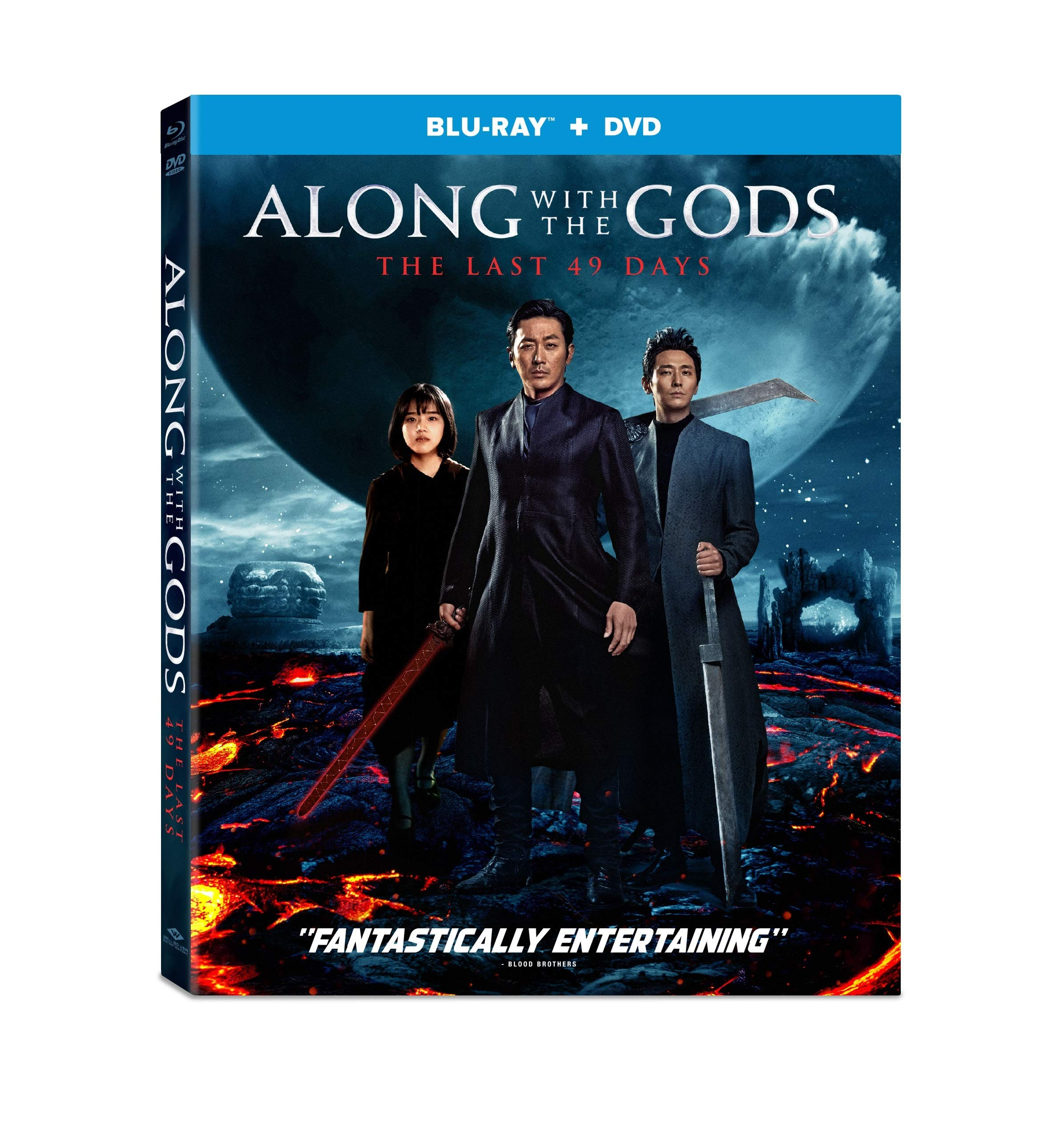 Blu-ray : Along With The Gods: The Last 49 Days (2 Pack)