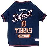 Pets First MLB Detroit Tigers Dog T-Shirt, Medium
