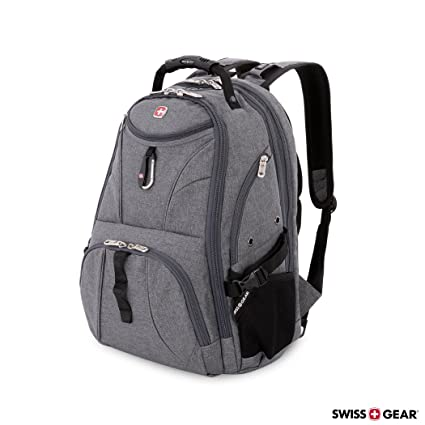 f7c8b28765f9 Image Unavailable. Image not available for. Color  SwissGear 1900 Scansmart  TSA Laptop Backpack ...