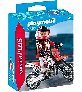 Playmobil Motocross Juguete geobra Brandstätter 9357