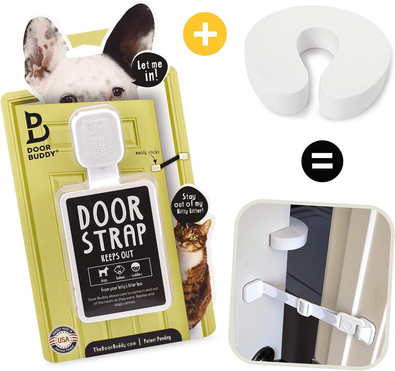 Door Buddy Door Latch Plus Door Stopper