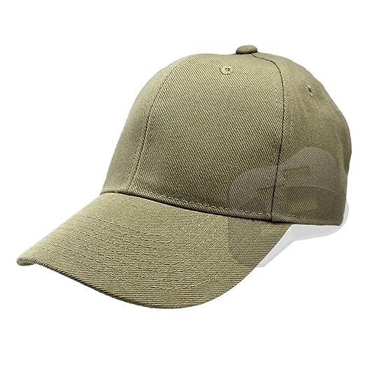 Enimay Baseball Hats Caps Curved Bill Solid Color No Logo Khaki 7 1 ... a2ad3bc52bb