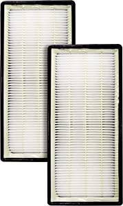 LifeSupplyUSA 4 Pack Replacement HEPA Filters Compatible with Honeywell HRF-C1, 16216 Holmes HAPF30 and Bionaire Vicks Air Purifiers
