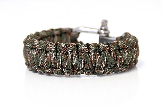 35 opinioni per Paracord corda braccialetto braccialetto di sopravvivenza a tessere di cavo