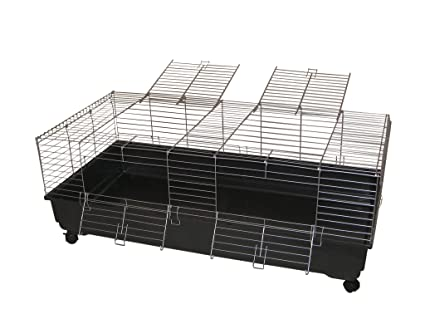 Jaula para roedores 140 cm para conejos o meeris: Amazon.es ...