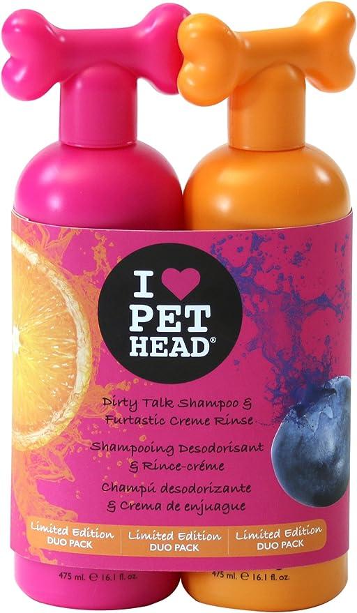 Pet Head Dirty Talk Champú y acondicionador furtastic Duo Pack: Amazon.es: Productos para mascotas