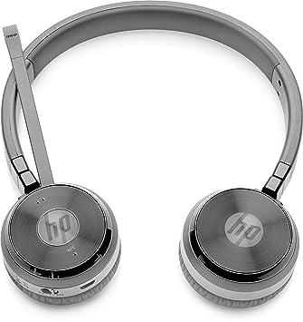 HP - Auriculares (Inalámbrico, Diadema, Binaural, Circumaural, 310 g, Negro): Amazon.es: Informática