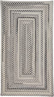 "product image for Capel Tooele Grey 11' 4"" x 14' 4"" Concentric Rectangle Braided Rug"
