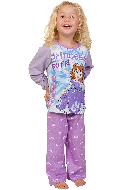 ThePyjamaFactory Disney Ni/ñas Princesa Sofia pijama 3/A 6/A/ños