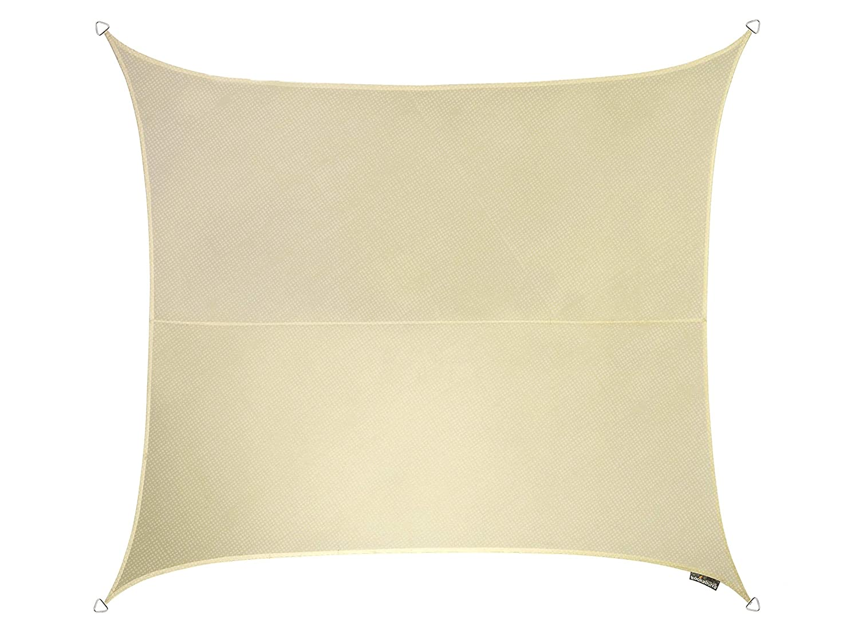 Kookaburra Breathable Sun Sail Shade Ivory – 11ft 10 Square