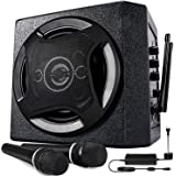 TONOR PA System Karaoke Machine with Bluetooth Powered Speaker Wireless Microphones Handheld for Family Party, Indoor…