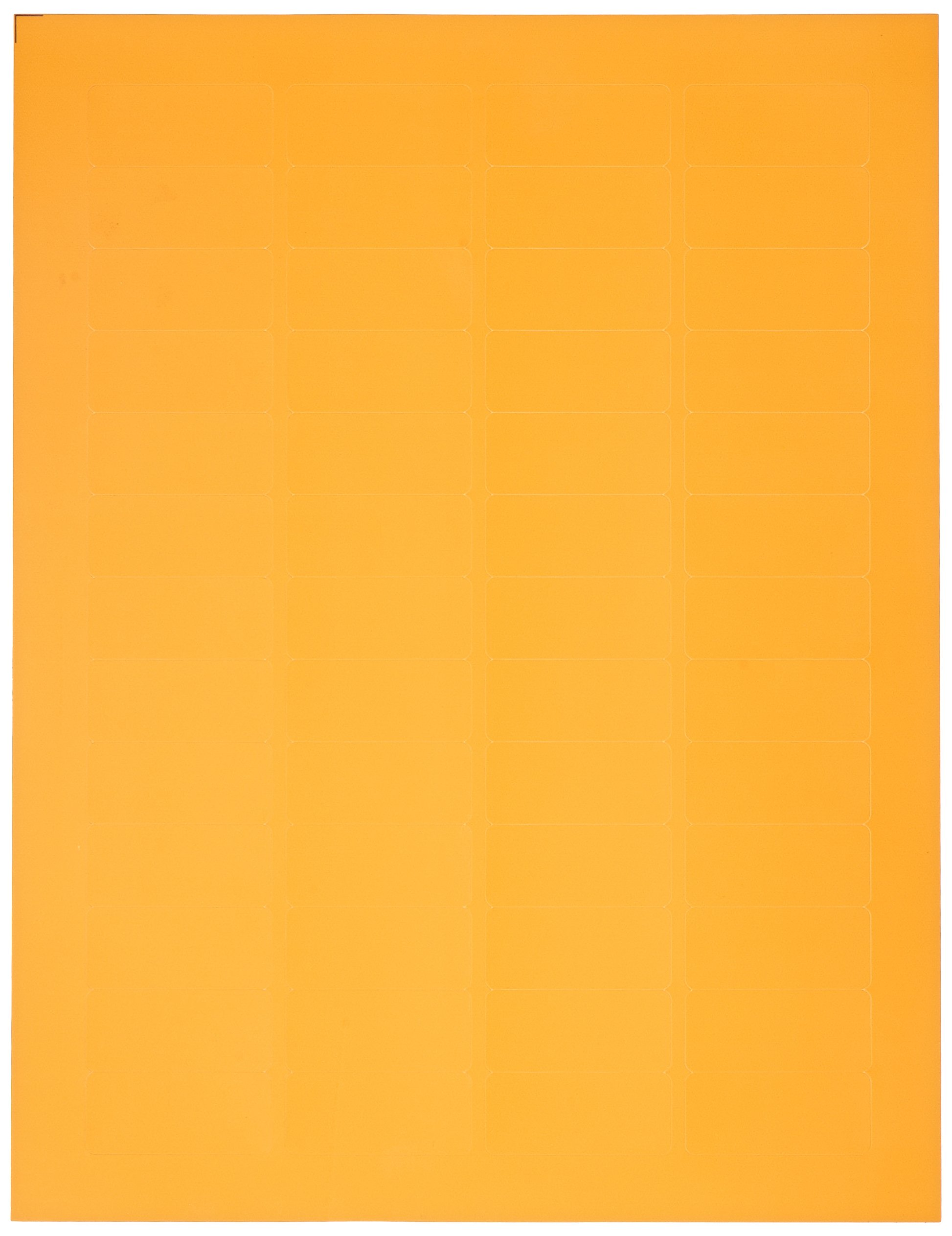 Diversified Biotech LCRY-1100-O Polyolefin Cryo-Babies Laser Label, Use with Cryovials, 0.75'' Width x 1.69'' Length, Orange (Pack of 1040)