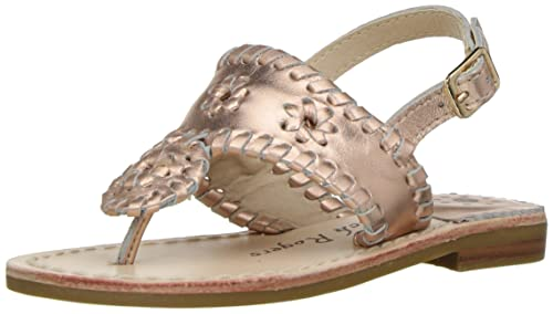 9e1c9c9071cb Jack Rogers Girls  Little Miss Hamptons Sandal