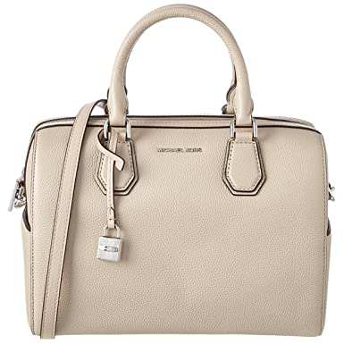 9e5cfe8af45d Image Unavailable. Image not available for. Color  Michael Michael Kors  Mercer Leather Medium Duffle