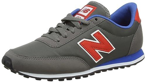 timeless design b142b fb4cb New Balance Unisex Adults  U410 Low-Top Sneakers, (Grey Red
