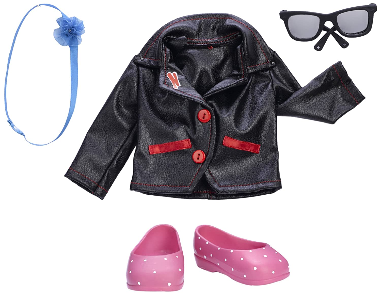 Nancy My Look Jackets, vestidos para muñeca, color negro (Famosa 700012073)