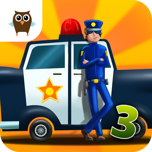 Car Builder 3 Mad Race   Police Car Chase  Hippie Van Mechanic  Monster Truck Driver And Tank Battle