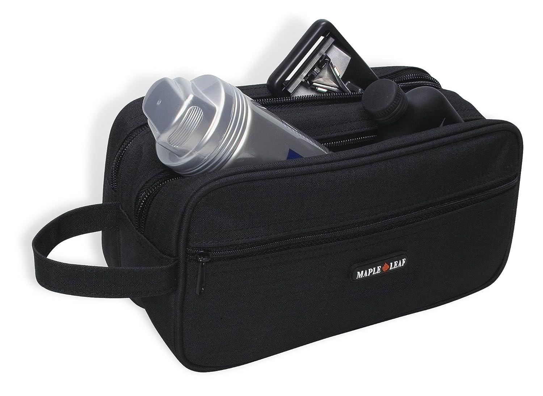 Maple Leaf Toiletry Kit, Black, International Carry-On ACI Brands- CA Luggage ML3949BK