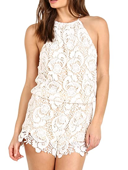 6322810a8d5 Image Unavailable. Image not available for. Color  Winston White Delano  Romper Feather