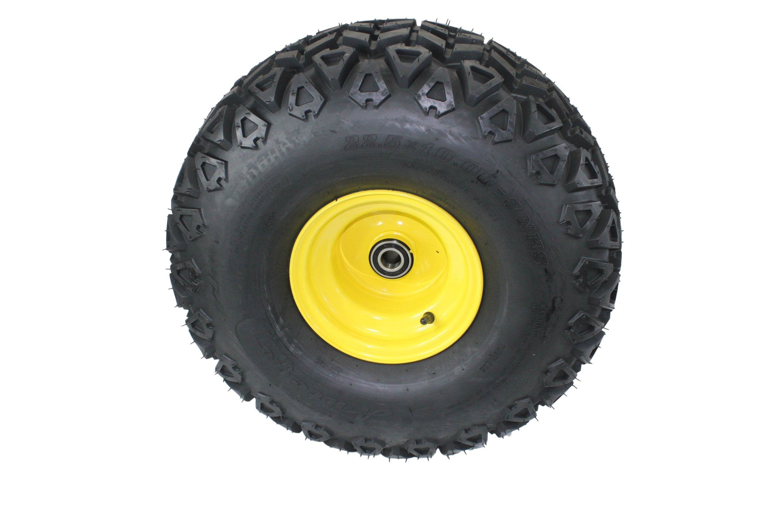 22.5x10.00-8 John Deere Gator Front Wheel and Tire Assy Perfectly Replaces AM143568 M118820