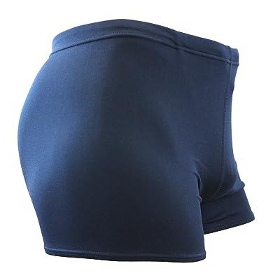 Adoretex Men's Polyester Solid Square Leg Swimsuit