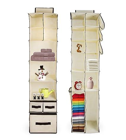 Juego de 2 para colgar en el armario para hogares, dormitorios y artesanía habitaciones |