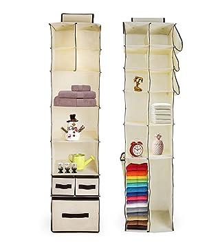 Juego de 2 para colgar en el armario para hogares, dormitorios y artesanía habitaciones | para ...