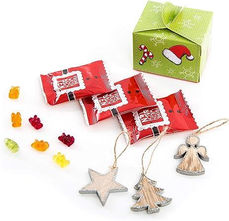 10 piccoli regali di Natale finito clienti regali rosso verde
