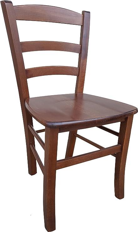 Sedia in legno massello seduta in massello ristorante casa